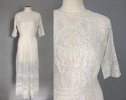 1910 wedding dress etsy