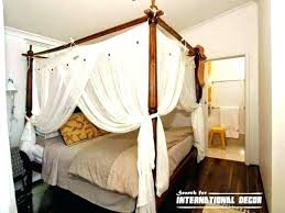 poster bed canopy curtains 4 poster canopy bed curtains adca22 org