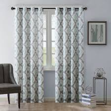 blue sheer curtains u0026 drapes you u0027ll love wayfair