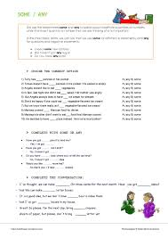 Countable And Uncountable Some Any Exercises Pdf Some Any Worksheet Countables And Countables
