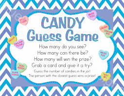 valentine candy game u0026 entry cards guess how many printable