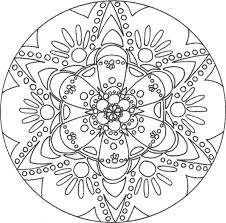 Top Mandalas Gratuits  Mandala Rond Fleurs  Mandalas à imprimer