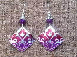 aluminum earrings recycled aluminum can earrings upcycle project ideas