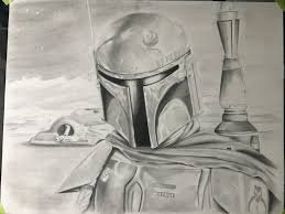 i just finished this really cool boba fett sketch check it out