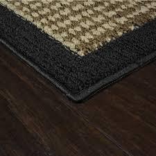 Black And Beige Area Rugs Mainstays Faux Sisal Area Rugs Or Runner Walmart Com