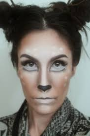 elle makeup artist halloween makeup deer doe eyes antlers