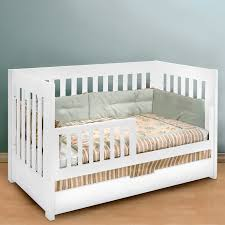 Convertible Crib With Toddler Rail Babyletto Mercer 3 In 1 Convertible Crib Hayneedle