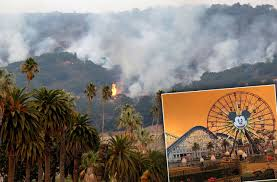Wildfire Anaheim by California Is Destroyed By Wildfire U2013 See The Shocking Photos