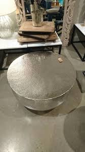 silver drum coffee table silver drum coffee table table pinterest drum coffee table