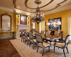 How To Use Yellow To Shape A Refreshing Dining Room - Dining room walls