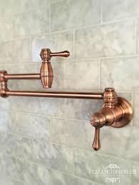 Copper Kitchen Faucet Steyn Kitchen Faucet With Spring Spout Copper Kitchen Antique