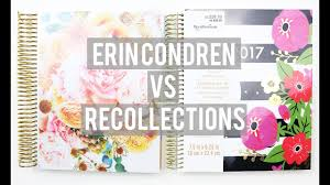 erin condren black friday sale erin condren dupe recollections planner comparison youtube