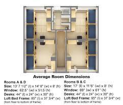 St Thomas Suites Floor Plan by Sullivan Hall