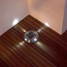 Led Solar Deck Lights - solar led deck lights using solar deck lighting u2013 the latest