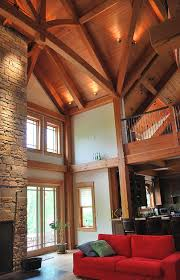 timber frame great room lighting exploration of this kind of building typology fascinating to think