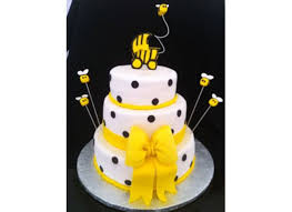 bumble bee baby shower bumble bee baby shower cake cakecentral