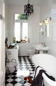 all about black and white tile bathroom newgomemphis