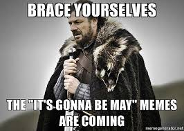 May Meme - it s gonna be may justin timberlake acknowledges infamous meme