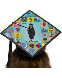 custom graduation caps savings on la graduada loteria graduation cap topper card stock