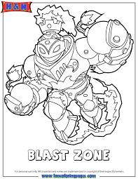 skylanders swap force fire blast zone coloring page h u0026 m