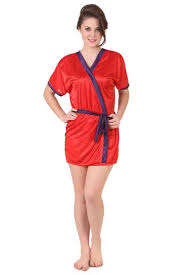 printed satin night wear night robe at lowest wholesale price rate