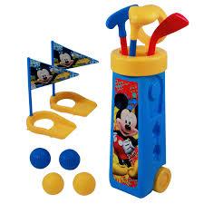 Golf Cart Flags Mickey Mouse Kids Golf Kids Clubs Toddler Golf Golf Set