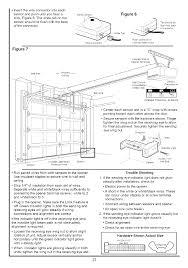 garage door sensor wire garage door opener sensor adjustment bernauer info just another