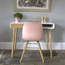 scandinavian blush pink chair by ella james notonthehighstreet com
