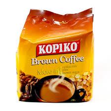 Coffee Mix kopiko brown coffee more in 1 coffee mix plus brown sugar 25g x10