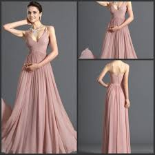 2014 new design fantastic v neck floor length ruffled spaghetti