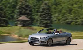 audi a5 roof 2018 audi a5 cabriolet test drive roof open front and side view