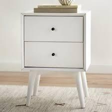 white nightstands you u0027ll love wayfair