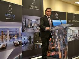 canderel celebrates ground breaking of yc condos in downtown toronto