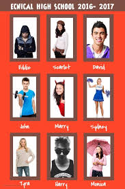 yearbook maker design a fantastic yearbook page for free postermywall