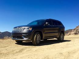 jeep summit 2016 first drive the sky u0027s the limit for 2017 jeep grand cherokee summit