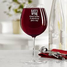 Wine Glass Gifts Personalized Wine Glasses U0026 Wine Accessories At Personal Creations