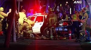 1 dead 3 injured in west hollywood deputy involved crash abc7 com