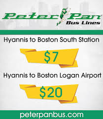 peter pan bus hyannis to south station the best bus