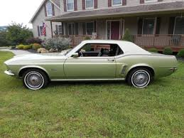 1969 mustang grande ford mustang coupe 1969 green for sale 9t01f216157 1969 mustang