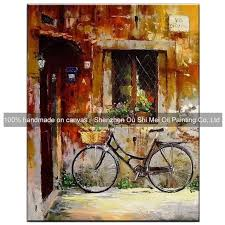 Home Handmade Decoration Home Decor Paintings Handmade Decorative Oil Painting Window
