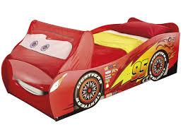 chambre enfant cars lit voiture 90x190 200 cm disney cars vente de lit enfant conforama