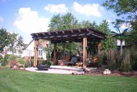 Backyard Arbors Contemporary Backyard Pergola St Louis Decks Screened Porches