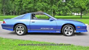 1989 camaro iroc z specs 1987 chevrolet camaro z28 iroc z midwest auto collection with