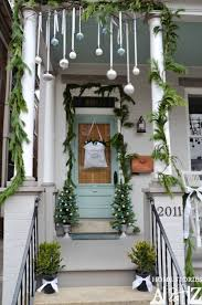 outside home christmas decorating ideas porches and patios dressed for christmas ideas and inspiration