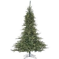fraser hill farm cluster pine 7 5 green artificial tree