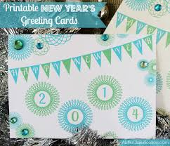 newyears cards free printable new year s greeting cards a claireification