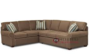 fabric sleeper sofa customize and personalize seattle true sectional fabric sofa by
