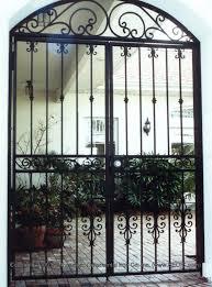 Patio Door Security Gate For Residential Applications Walk Gates Garden Gates Courtyard Gates Security Gates