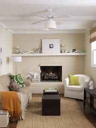 Ideas For Decorating A Small Living Room 10 Sneaky Ways To Make A Small Space Look Bigger The Everygirl