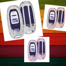 pink lexus key cover handmade bling diamond audi keychain car key cover for audi s5
